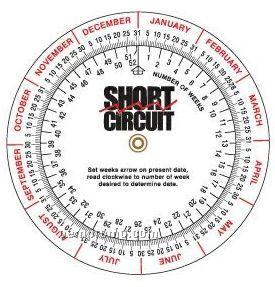 Date Finder Wheel