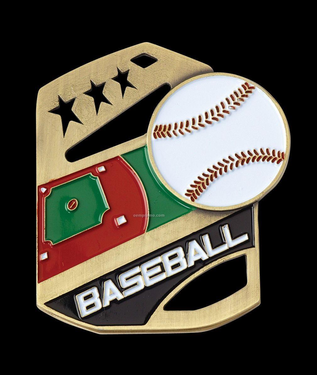 """Medals, """"Baseball"""" Cobra Medals"""