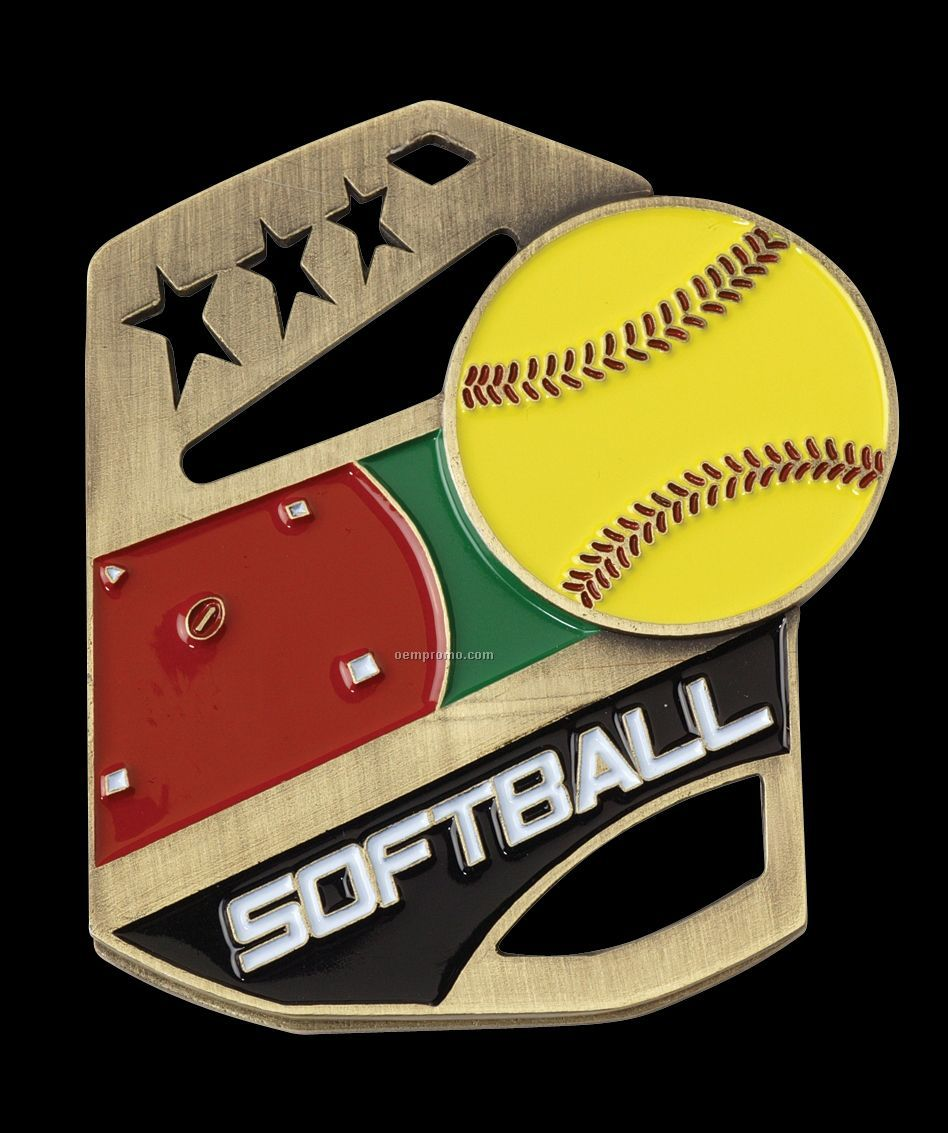 """""""Softball"""" Cobra Medals"""