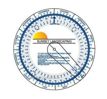 "Date Finder Wheel (7"" Diameter)"