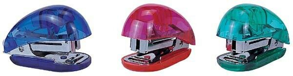 Round Mini Stapler With Staple Remover