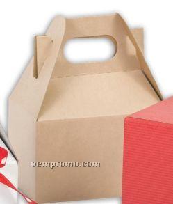 A La Carte Natural Kraft Mini Gable Boxes