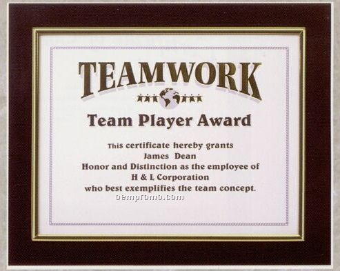 """Black/Silver Frame Featherlite Modular Office Plaques (10-1/2""""X13"""")"""