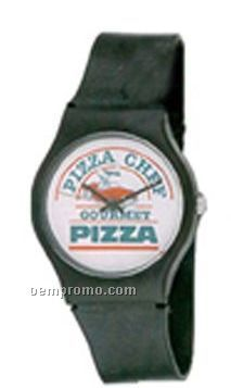 Cititec Gents Analog Quartz Watch (Black, Blank)