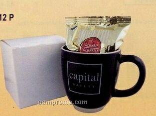 Coffee/Mug Gift Package - Black (1 Coffee Choice)