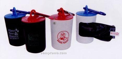 Pet Trash Bag Container