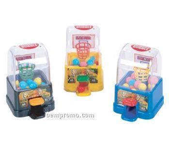 Basketball Game Gumball Dispenser