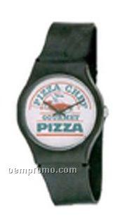 Cititec Ladies Analog Quartz Watch (Black, Blank)
