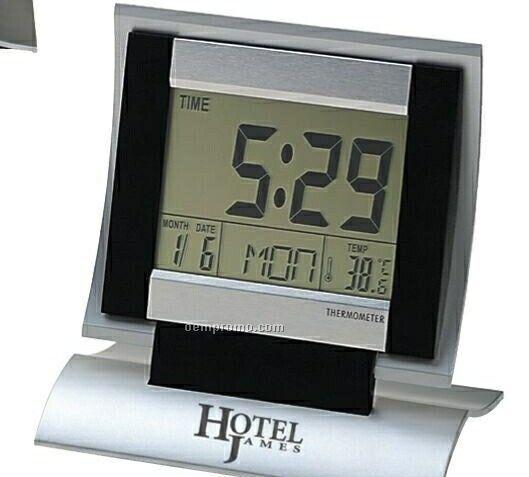 The Hotelier Folding Digital Desk Clock