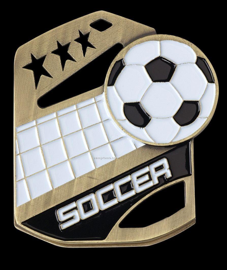 """Medals, """"Soccer"""" Cobra Medals"""