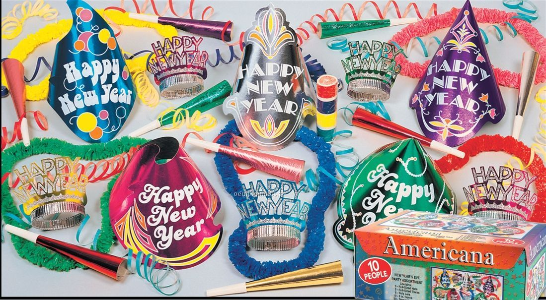 Americana New Year's Assortment For 10
