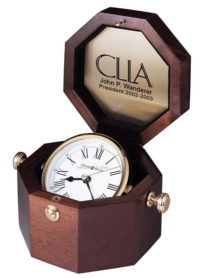 Howard Miller Oceana Gimbaled Captain's Clock (Blank)