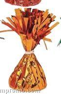6 Oz. Orange Deco Foil Weight