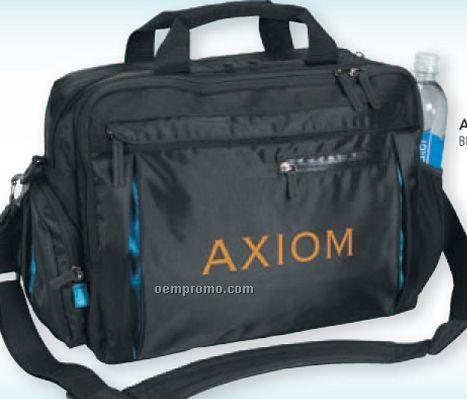 Atchison Odysseus Business Computer Brief W/ Multiple Zipper Compartment