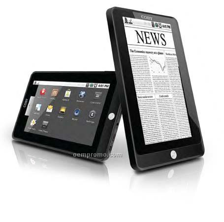 """Coby 7"""" Mid With Android Os 2.1, 4gb Flash Memory & Wi-fi"""