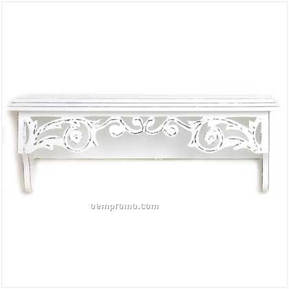 Shabby Elegance Wall Shelf