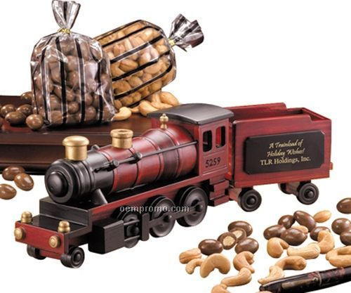 1935 Steam Locomotive W/ Milk Chocolate Almonds & Extra Fancy Jumbo Cashews