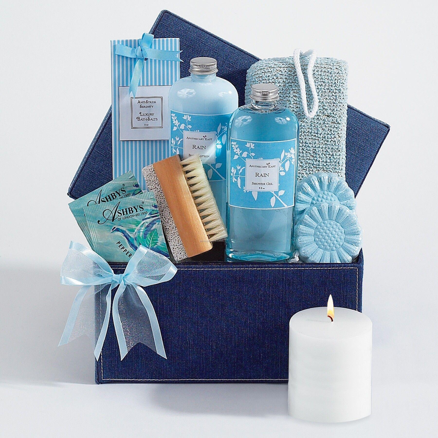 Denim Day Spa Gift Set