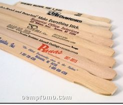 """Natural Wood Finish 9"""" Paint Paddle For Quarts - 1 Color"""