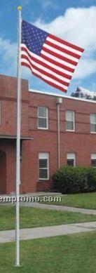 Homesteader Aluminum Flagpole (10')