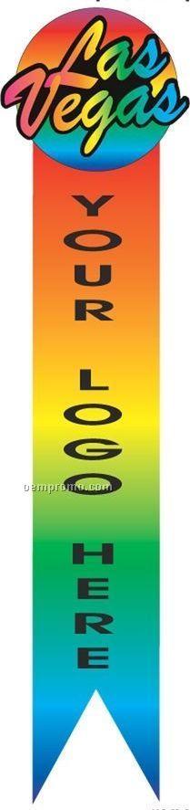 Las Vegas (2 Line) Bookmark W/ Black Back