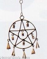 Star In Circle Wind Chime