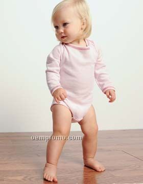 Bella Baby Long Sleeve Thermal One Piece (3m-24m)