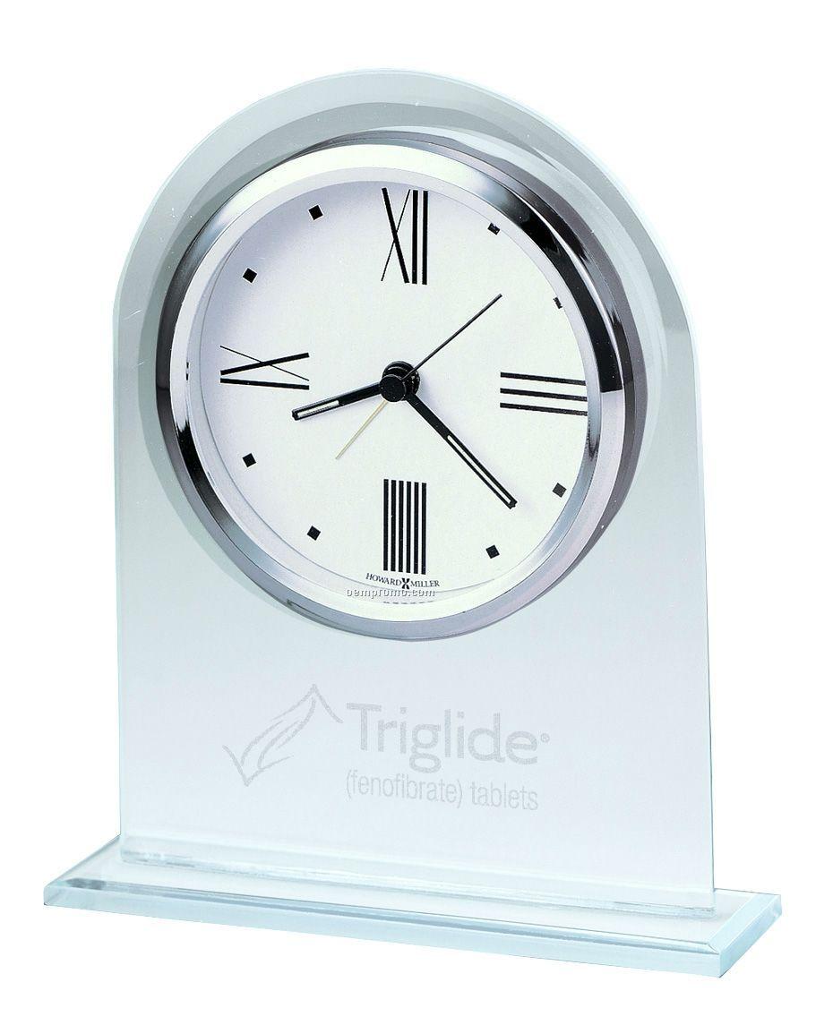 Howard Miller Regent Arch Alarm Clock (Blank)