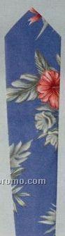 Tropical Printed Bistro Tie (Floral Pattern)