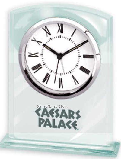 Glass Desk Alarm Clock