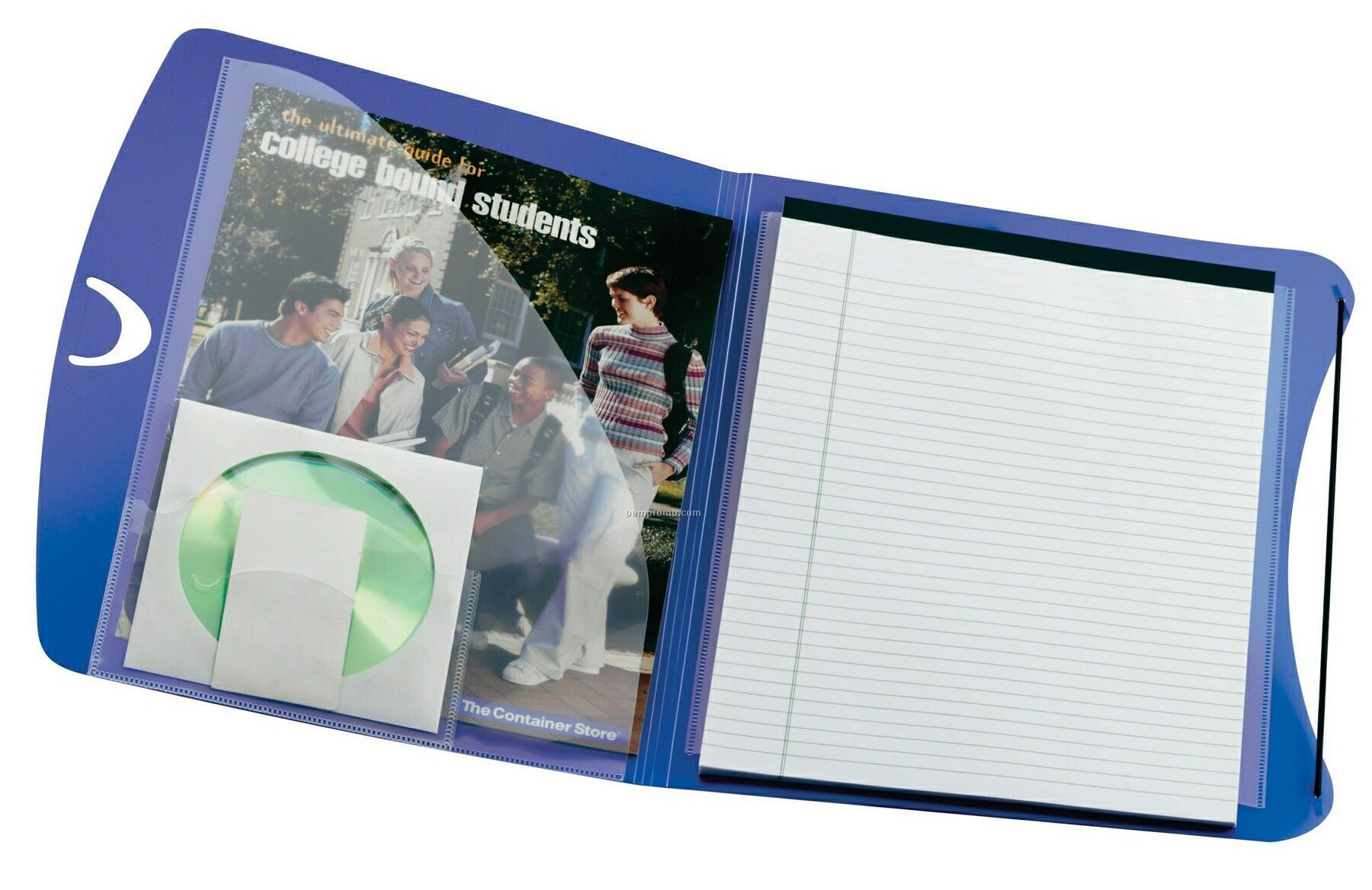 Air-tex Polypro Padfolio With Business Card & CD Holder