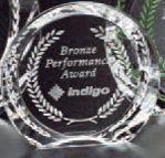 "Pristine Gallery Achiever Award (4"")"