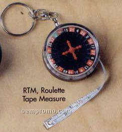 "36"" Roulette Tape Measure With Working Roulette Reel"