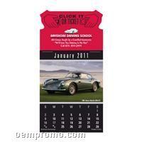 Cruisin' Cars Press-n-stick Calendar (Thru 08/01/2011)