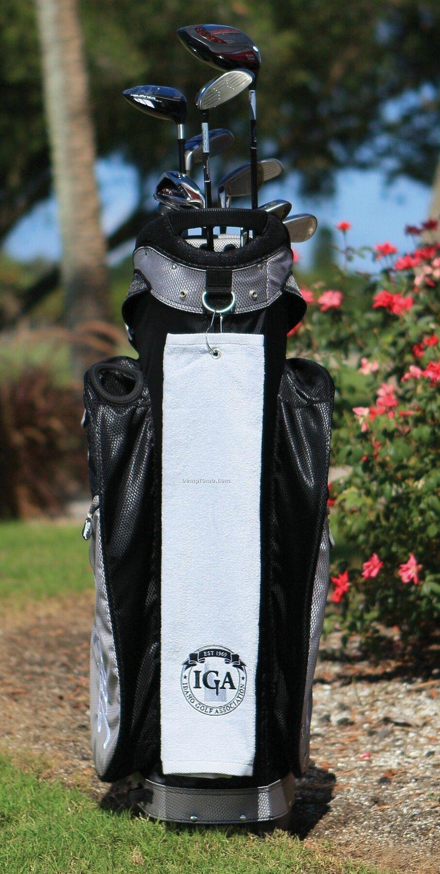 Diamond Collection Golf Towel - Printed