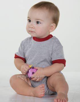Enza Infant Ringer Onesie (6m-24m)