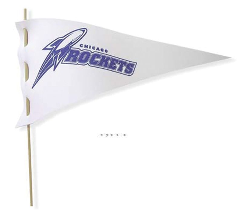 Flag Pennant With Dowel