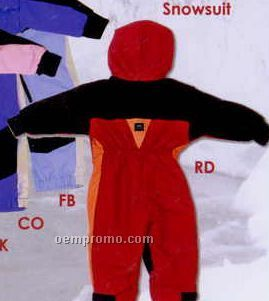 Red Infant Shelled Snowgear Snowsuit (3/9m)