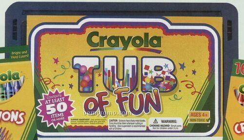 Crayola Tub Of Fun