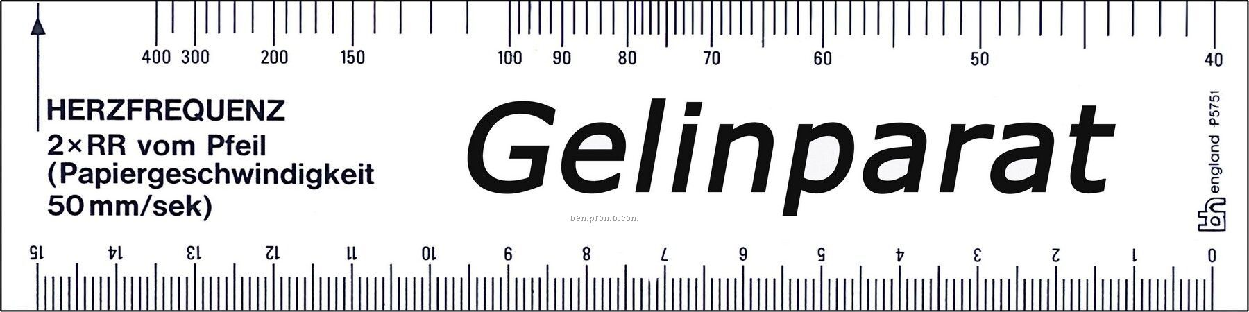 Ecg Ruler 6 Opaquechina Wholesale Ecg Ruler 6 Opaque