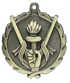 "Medal, ""Victory"" - 1-3/4"" Wreath Edging"