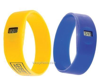 Silicone Watch Style Bracelet (Economy)