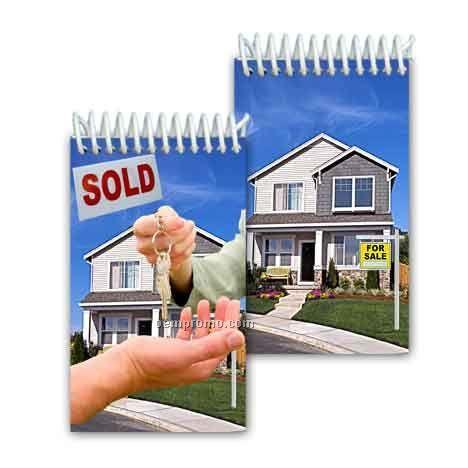 3d Lenticular Mini Notebook Stock/House For Sale (Blank)