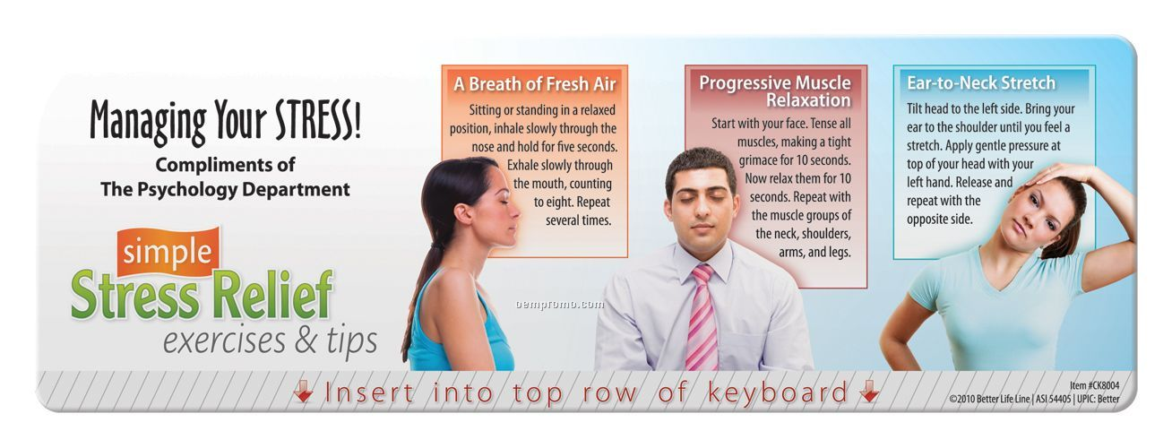 Keyboard Wiz - Simple Stress Relief, Exercises And Tips