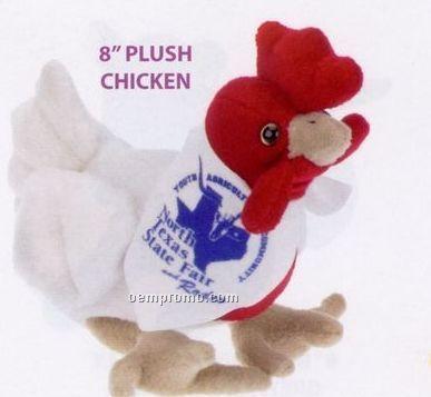 Plush Chicken Beanie Stuffed Animal
