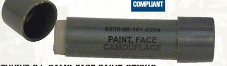 Genuine Gi Woodland Camouflage Face Paint Stick
