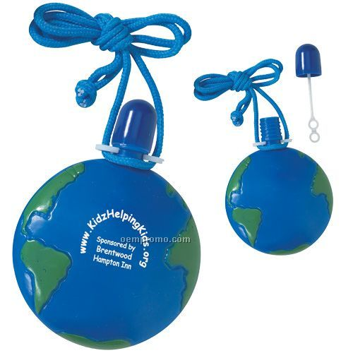 Round Global Bubble Necklace