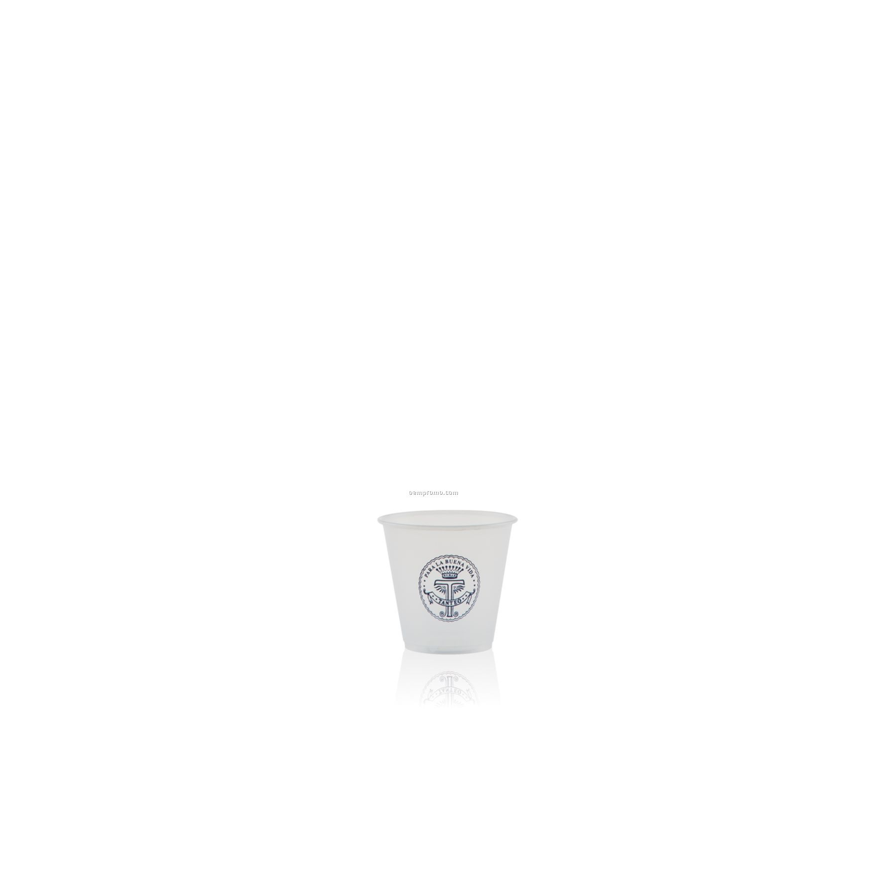 3.5 Oz. Soft Sided Frosted Cup