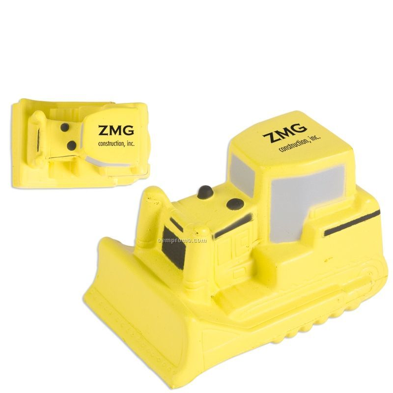 Bulldozer Squeeze Toy
