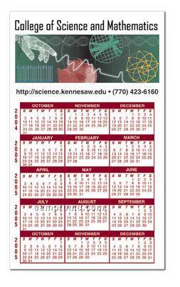 """15 Month Calendar Magnet (3""""X5"""")"""